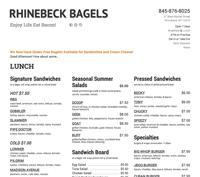 rhinebeck bagels